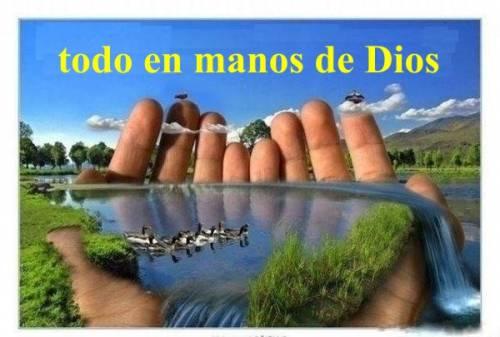 todo en manos de Dios